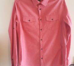 Roza muška košulja ,nova,H&M