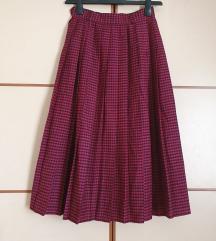 Plisirana midi suknja (-50%)