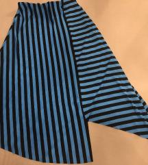 Asimetrična midi suknja