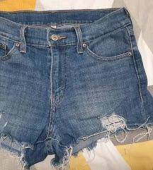 Levis kratke hlače - visoki struk - TOP PONUDA