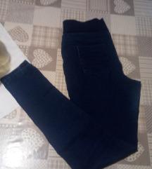 Elastične traper hlače,M