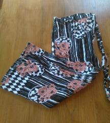 Maxi cvjetna suknja pareo