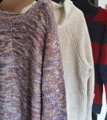 🌞 Lot 3 x dugi džemper L XL