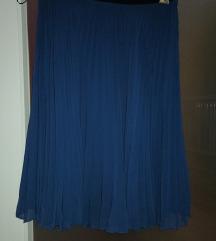 Suknja plisirana (do koljenja), vel. S