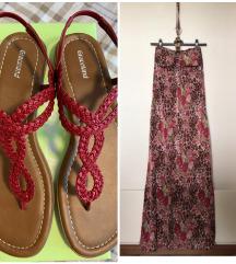 Lot / komplet sandale i haljina