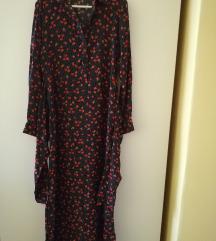 Duga haljina cvjetnog uzorka Zara