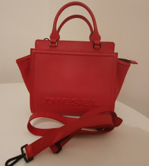 Diesel original crvena kožna torba