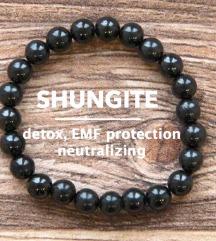 Narukvica od šungita (EMF zaštita)