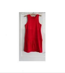 Nova crvena uska haljina bez rukava veličina M