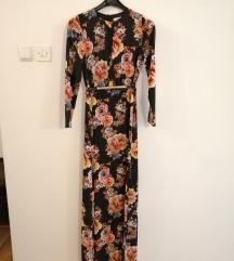 Mango duga cvjetna haljina