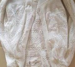 HM pleteni bijeli demperic