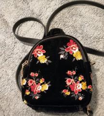 Zara plišani ruksak