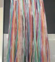 Zara plisirana šarena suknja