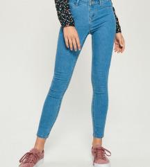skinny mid waist rebe