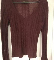 Lagani ljubičasti pulover novo 30 kn