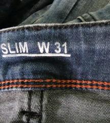 Denim hlače s  elastinom