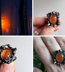 Winter sunrise prsten