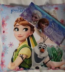 Frozen jastuk i nova pernica