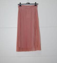 Suknja roza nova