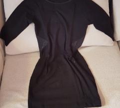FB sister crna tunika / mini haljina