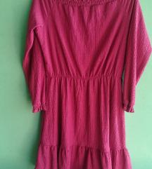 Roza haljina 🌸 poštarina uključena u cijenu!