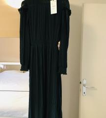 Nova Zara haljina tamnozelena 270 kn