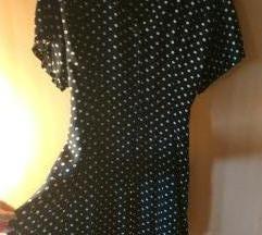 C&A haljinica tunika 42 točkasta