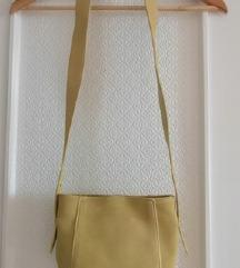 Mango torbica od brušene kože