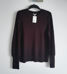 HM novi bordo pulover puf rukavi