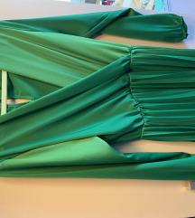 Zelena svečana haljina vel. S