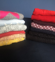 LOT 13 pulovera - h&m, reserved,c&a,Benetton ..