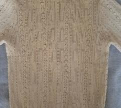 Zara rupičasti pulover