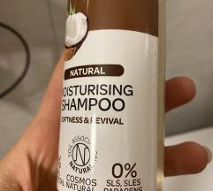 Natural Coconut&Shea hidr.šamp za suhu i oštećenu