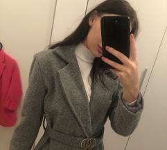 Sivi kaput S, sa pt!