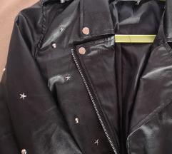Novo kožna jakna sa zakovicama M