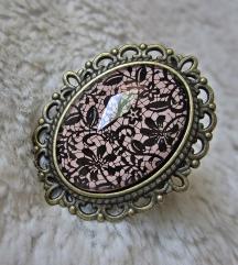 Prsten ''Nude lace'' (ručni rad)