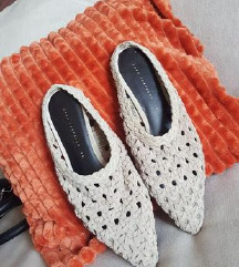 Sandale ZARA mule kožne NOVO