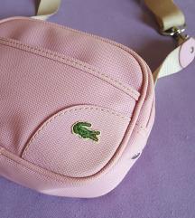 Lacoste roza torbica