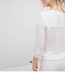 NOVO Asos JDY bijela bluzica sa točkicama