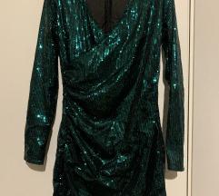 Nova zelena haljina sa Šljokicama s M 38