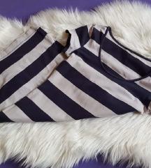H&M stretch mornarska haljina