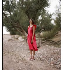 KUPUJEM Reserved crvenu ljetnu haljinu