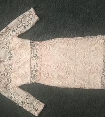 Čipkasta nova haljina
