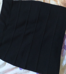 crna uska suknja
