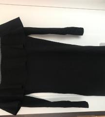 kraća crna haljina/tunika