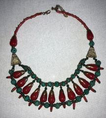 Ogrlica imitacija koralja