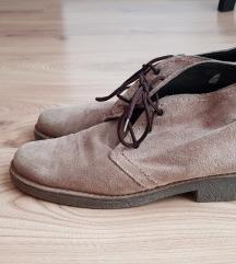 Bež cipele od prave kože
