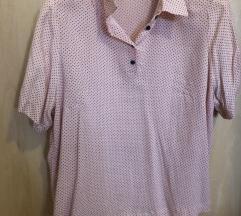 Ružičasta bluza kratki rukav