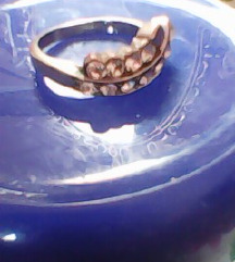 Prsten, VEĆI opseg, KIRUŠKI čelik+cirkoni