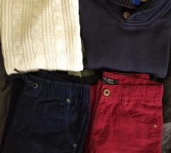 Lot 128 za dječake: puloveri+samterice